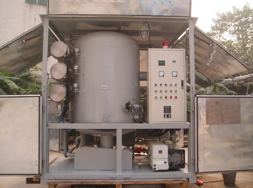ZYB Series Vacuum Insulation Oil Treatment Plant, Multiply-function Transformer Oil Regeneration, Oil Processing Plant