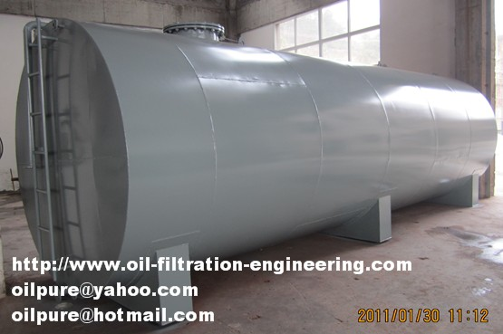 Oil Storage Tank > Oil Filtration System